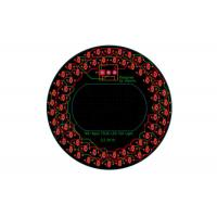 Cheap 80mm Diameter Round LED PCB Layout Assembly For Vehicle Signal Tail Lights for sale
