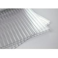 Cheap Unbreakable Two Layers Clear Sheets Polycarbonate Eave 10 Years Warranty for sale