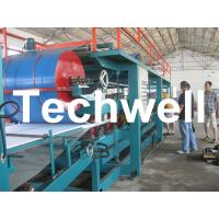Cheap EPS Foam Insulated Sandwich Panel  Making Roll Forming Machine for sale