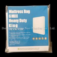 Cheap 01 Style 6 Mil 78*16*104 inch Heavy Duty King Mattress Bag for sale