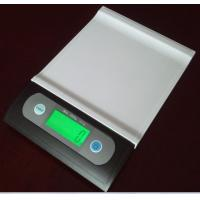 Cheap 7kg / 1g Portable Digital Scale White / Black With LED Backlight for sale