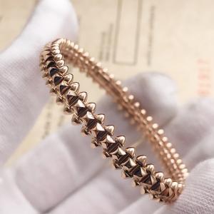 Cheap 8mm Width B6065217 Clash De Cartier Bracelet 18K Pink Gold for sale