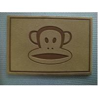 Custom Made PU Leather Patches For Clothing With Brand Logo Long Lasting