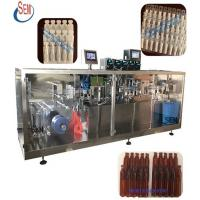 Cheap plastic bottle soy sauce packing machine,automatic chemical liquid packing machine,stand up plastic ampoule filling and for sale