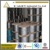 Cheap 1x7 various steel wire rope used on aircraft Cable for sale