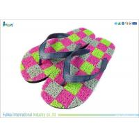China Colorful Womens Beach Flip Flops on sale
