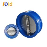 Cheap Cast Iron Double Plate Check Valve Wafer Type Manufacturer for sale