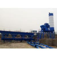 China Modular HZS75 75M3/H Small Fixed Cement Concrete Batching Mixing Plant on sale