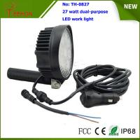 Cheap Portable and off road 27W LED Work Light Lamp for 4X4 vehicles and LED emergency lighting for sale