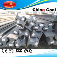 China Q235 material light steel rail track for railway on sale
