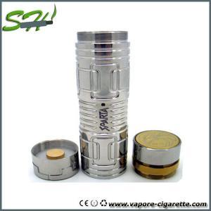 Cheap Adjustable 26650 Sparta Vapor E Cigarette , Stainless Steel Full Mechanical Mod Ecig for sale