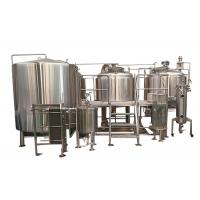 Cheap 10BBL Pub Brewing Systems Steam Heating With Glycol Cooling System Eco Friendly for sale