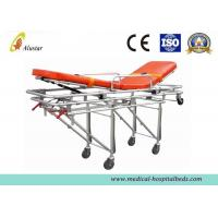 Cheap Waterproof Foldable Automatic Loading Stretcher Aluminum Alloy Emergency Stretcher (ALS-S005) for sale