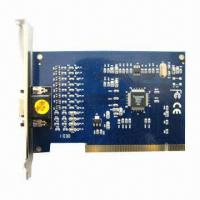 China 4-channel DVR Card with 120fps Video Frame Rate, Supports Microsoft's Windows Operating System on sale