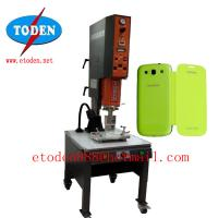 Cheap rotating table plasic leather cover welding machine for sale