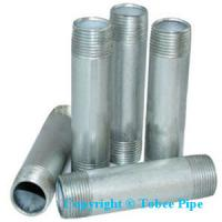 Cheap malleable iron pipe fittings Nipple for sale
