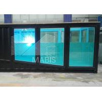 China Good Sound Insulation Effect Shipping Container Apartments Green Material on sale