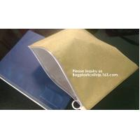 Waterproof Clear Plastic File Document File Bag For Bill Invoice Note File,Zip