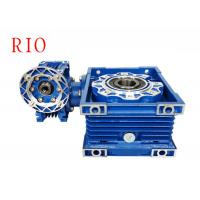 China Industrial Double Reduction Worm Gear Reducer Nmrv030/075 High Load Capacity on sale