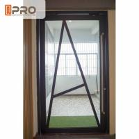 Cheap Floor Spring Aluminum Pivot Doors For Interior House Customized Size for sale