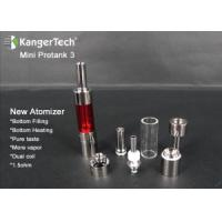 Buy cheap Electronic Cigarette Kangertech Glass Tube Atomizer Mini Protank 3 from wholesalers