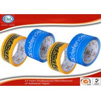 Cheap Logo Printed Packaging Tape / Heavy Duty Adhesive Sealing Tape for sale