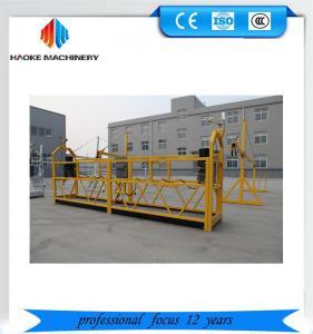 Cheap Reliable ZLP630 painting steel suspended platform for building construction wholesale