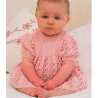 Cheap Acrylic - cotton wholesale baby dress knitting pattern, summer baby clothes for sale
