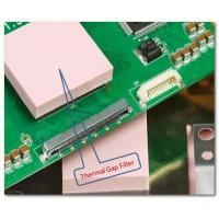 LCD Heatsink Thermal Conductive Pad , Compressible Heat Conductive Foam