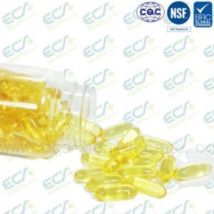 Cheap Natural Origin Vitamin E Oil Pills , Vitamin E Softgel IP Certificated Soybean Source for sale