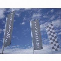 Cheap Flag Banner with Eyelet, Can Hang on Wall, Used for Advertising and Promotions for sale