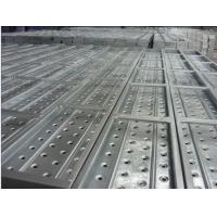 High Strength Galvanized Scaffolding steel planks with hook for sale