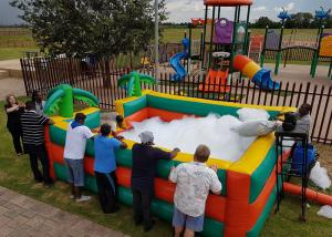 Cheap Inflatable Bubble Fun Commercial Inflatable Foam Pit For Sale for sale