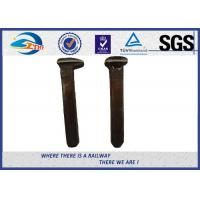 Cheap Railway Small Screw Auger Dog Spikes Rail Track Spikes Without Crack for sale