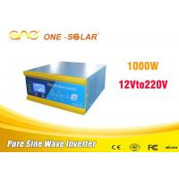 Cheap OEM  Dc To Ac 12v 220v 1000w Pure Sine Wave Inverter For Home Use wholesale
