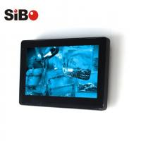 Buy cheap Glass wall mounted Android Touch Panel with NFC reader for smart office from wholesalers
