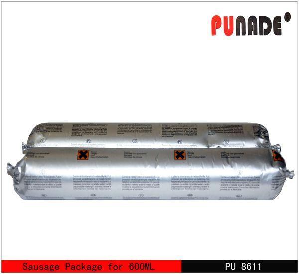 Quality PU/ Urethane Windshield pu glass Adhesive sealant (8611 PU automobile windscreen adhesive sealant ) wholesale