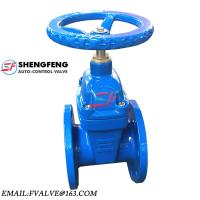 Quality Hand Operated BS5163 Casting Iron Soft Seal 4 6 Inch PN10 Water Gate Valve wholesale