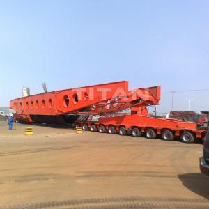 Cheap  Hydraulic Multi Axle Trailer 200 Ton Bridge Transport Modular Trailer for sale