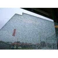 China Cracked Ice Decorative Laminated Glass Panels With Nano Coating on sale