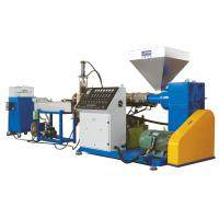 Cheap Plastic Pelletizing Line, Pellet Production Lines For Cracked Waste Plastics And Film for sale