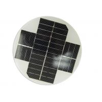 China Small Size Round Solar Panel OEM Dimension With High Module Conversion Efficiency on sale