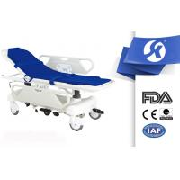 Cheap Electrostatic Spray Steel Frame Patient Stretcher Trolley USA Pumps for sale