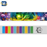 Cheap Fantastic 3D Lenticular Printing Ruler 0.9mm PET+157g Paper Material for sale