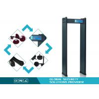 Cheap High Precision 4 zones scanner metal detector Walk Through for Factory safe for sale