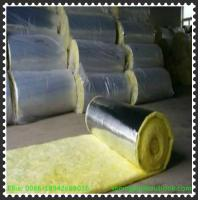 Cheap Glass wool with alum.foil overlapping/Fiber glass wool with Alumnum foil for sale