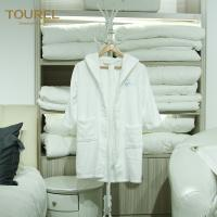 Cheap Cute Children Hotel Quality Bathrobes Warm Comfortable Touch Embroidery Logo for sale
