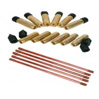 Buy cheap UL listed combination type grounding electrode / ground rods High performace from wholesalers