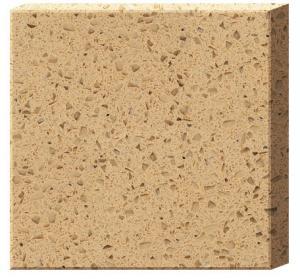 Cheap Single Color Artificial Quartz Slabs for Countertops for sale
