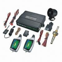 Cheap Two-way Car Alarm System with Color LCD Panel and Handsfree Operation for sale